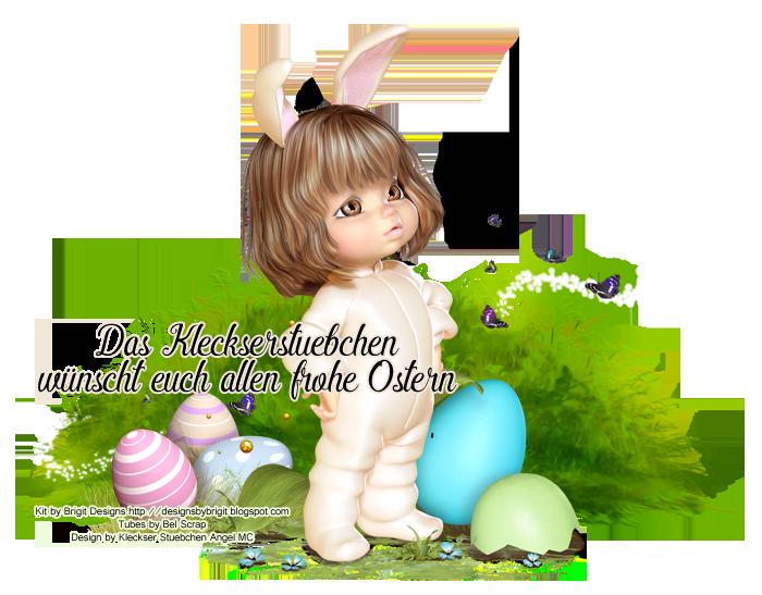 Kleckserstuebchen bringt zu Ostern liebe Grüße vorbei Frohe-Ostern19-3BLFireangelsonsij14